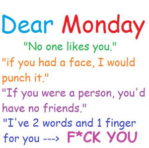 Top 28 Interesting Funny Monday Quotes