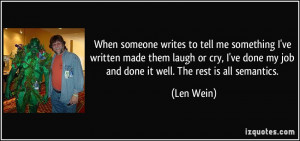 quote-when-someone-writes-to-tell-me-something-i-ve-written-made-them ...