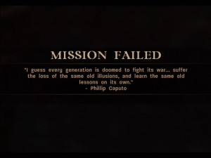 Call of Duty 3 Xbox 360 You get a nice quote if you fail your mission