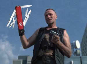 ... el helipcoptero. . Para mi Merle se lo decia T-Dog por lo del abrazo