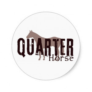 Quarter Horse Sticker