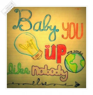 ... Life Quotes | Baby You Light Up My World Love Quote « QUOTEZ.CO