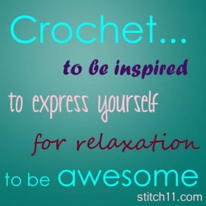 crocheting quotes | Crochet Quotes