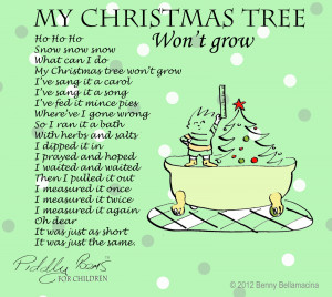 My Christmas tree 2 edited 1 Funny Christmas Poems