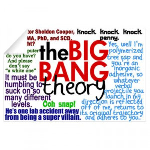 ... now Its about Cafepress Wall Art Decals Big Bang Quotes Decal Picture