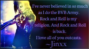 Black Veil Brides Jinxx ~Jeremy Ferguson