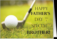 Happy Father's Day to my Special Brother! card - Product #188487