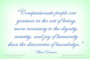 Compassionate People Are Geniuses