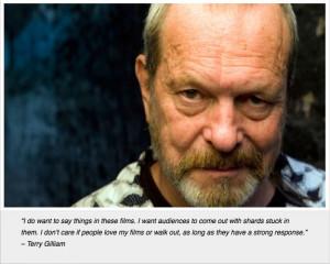 Terry Gilliam quote