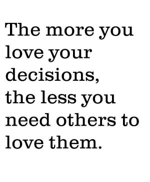 Life quotes sayings wise decision