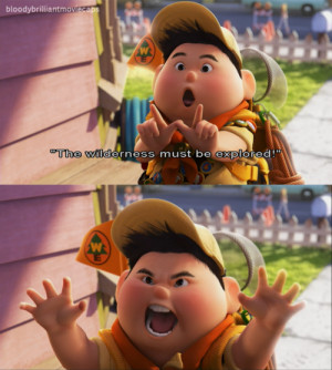 Up Movie Quotes Russell Re: disney character quotes