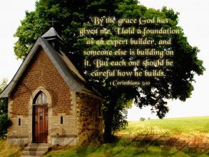 Corinthians 3:10 – Wise Builder Papel de Parede Imagem