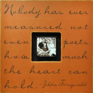 words by zelda fitzgerald.