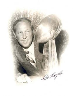 Pete Rozelle Vintage Signed Photograph