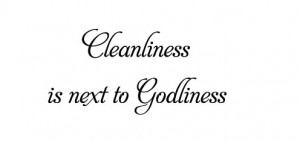 Cleanliness Quotes (3)