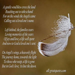 Poems For Grandma Funeral