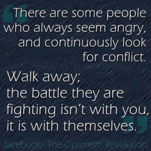 Angry people quote