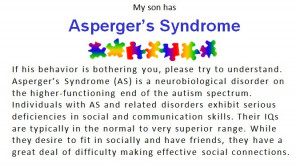 posted by bec at 10 23 am labels asperger asperger s aspergers autism