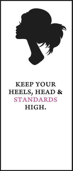 Keep your standards high.. (~ Love Morning Motivation & Quotes? Like ...