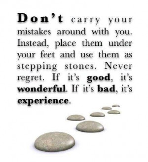 Learn from our mistakes