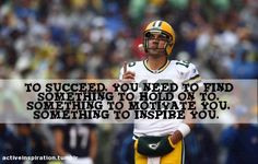 football players cute quotes motivation quotes green bays football ...