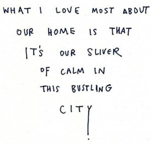 home sweet home # quotes # happy # citylife