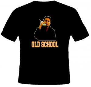 Michael Douglas Gecko Wall Street Old School T Shirt