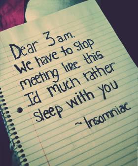 Insomnia Causes