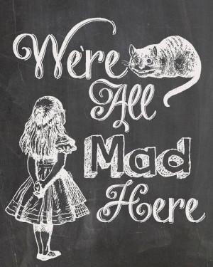 We're all mad here – Pour un mariage Alice au Pays des Merveilles