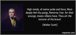 Native Pride Poems High minds, of native pride