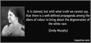 More Emily Murphy Quotes