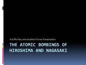 Atomic Bomb Hiroshima and Nagasaki