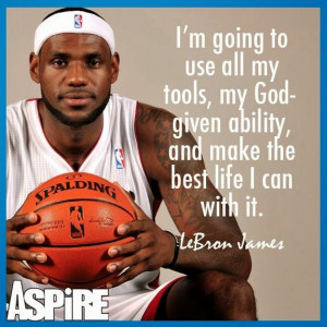 Inspirational Quote - Lebron James