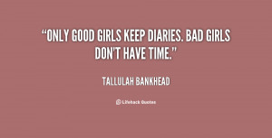 Good Girl Gone Bad Quotes