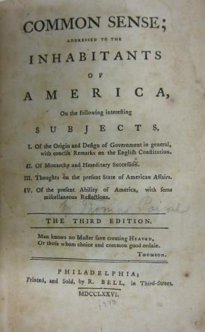 Thomas Paine Quotes Author Of Common Sense