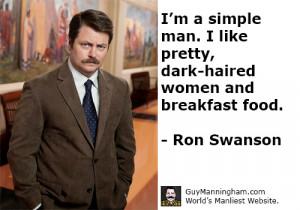 Top 10 Ron Swanson Quotes