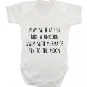 ... fly to the moon baby vest grow fantasy tumblr instagram cute white 105