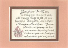 Quotes+About+Daughters+In+Law | Charm Daughters in Law Family Love ...