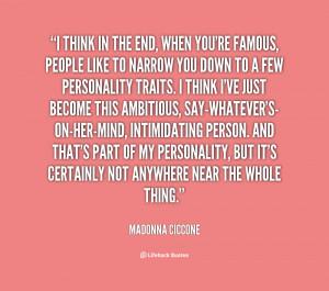 Madonna Quotes