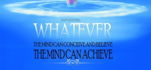 You can achieve anything...