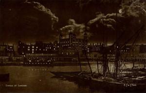 Bridge Night London England