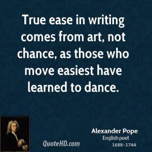 Alexander Pope Art Quotes