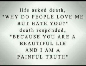 Death quotes, deep, miss, sayings, truth