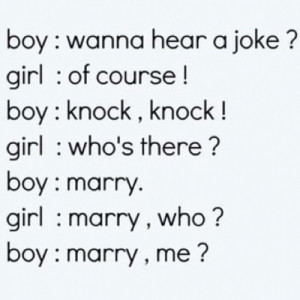 ... Pictures Or Quotes: Joke About Marry Very Funny Quotes In Conversation