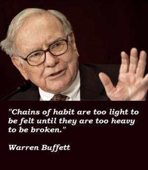 Success Quotes By Warren Buffett That warren buffett uses
