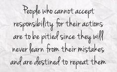 responsibility/accountability More