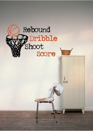 Best Quotes Basketball Wallpapers Murals for Kids Bedroom Wall ...