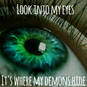 Imagine dragons Demons quote lyrics