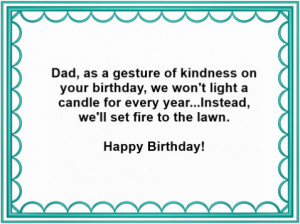 Free Birthday Card Verses For Your Father
