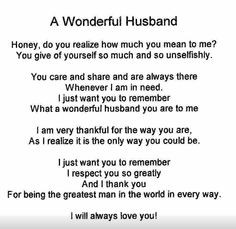 Missing My Husband Quotes Husband quote